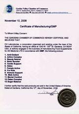 GMP сертификат (кликните для увеличения)