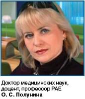 Ольга Сергеевна ПОЛУНИНА
